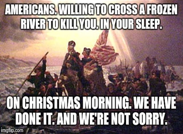 George Washington Christmas Meme.This Is It The Absolute Best Christmas Meme For Every Proud