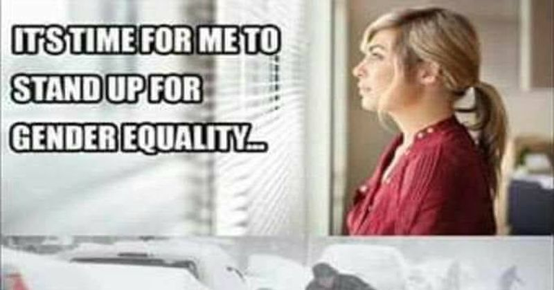 HILARIOUS Meme Shows What Feminists Think About Gender Equality In Winter