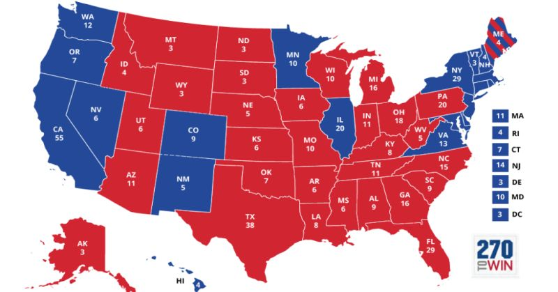 States That Went For Hillary Have One UNUSUAL Thing in Common