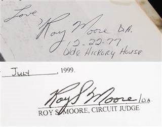 BREAKING: Roy Moore Accuser BUSTED Lying About Yearbook