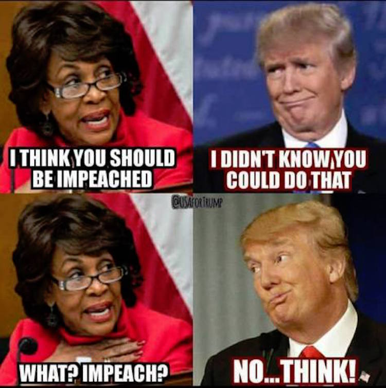 Hilarious Meme Sums Up Why Maxine Waters Needs to go Away