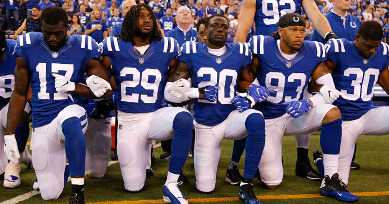 What taking a knee really means: A reflection on the power ... |Football Players Kneeling