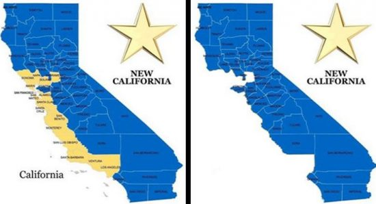 'New California' Declares Independence From Rest of State
