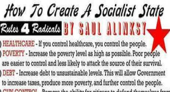 How To Create A Socialist State In 8 Easy Steps – Dems Have Already Done 6 Of Them…