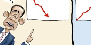 "Obama's SICK Hypocrisy on the Booming ""Trump"" Economy [Cartoon]"