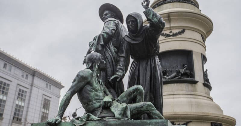 San Francisco Removing Statue Showing Founding Of State Because...Racism