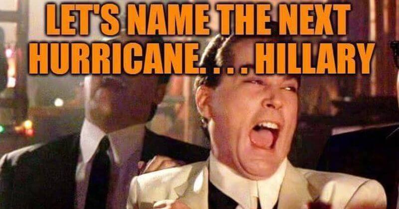Hilarious: Why The Next Hurricane Should be Named Hillary