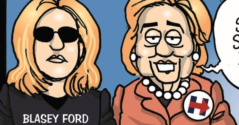 Hillary's Hypocrisy Over Kavanaugh Exposed With One Savage Cartoon
