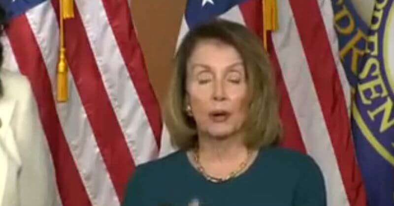 Watch as Nancy Pelosi Once Again Spaces Out Mid-Sentence