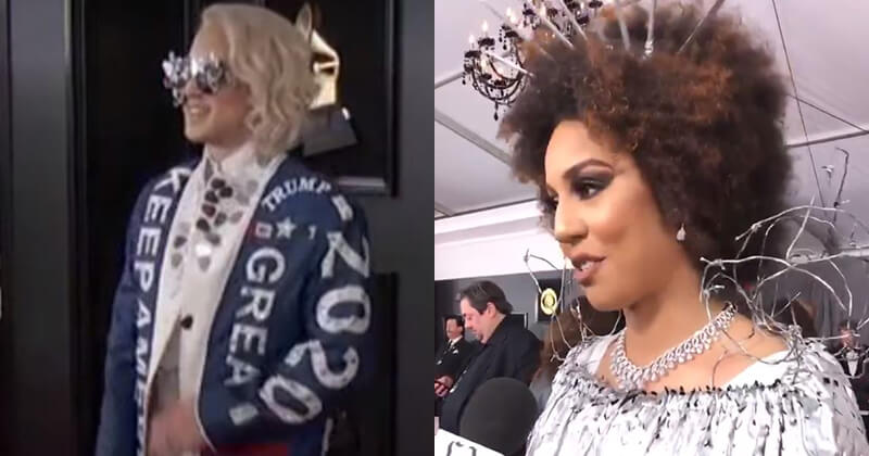 Pro Trump Artists Take The Grammys By Storm And Combat Michelle Obama Appearance