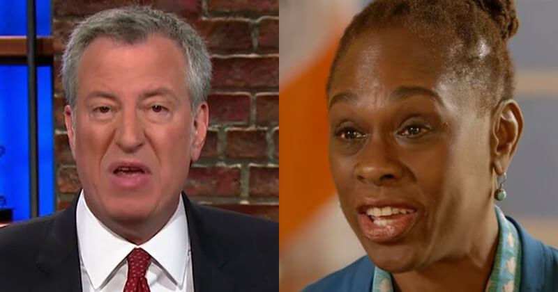 NYC Mayor De Blasio's Wife Under Fire For Losing $850 Million
