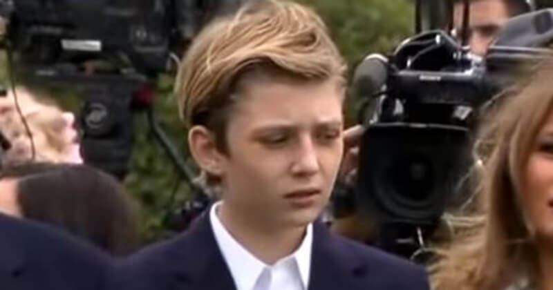 Democrats Spend Father's Day Attacking 13-Year-Old Barron Trump