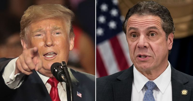 Trump Stands Tall, Forces New York Gov. Cuomo To Cave on 'Sanctuary' Law