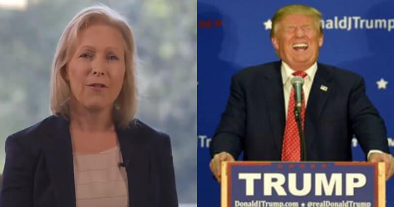 Image result for Gillibrand Ends Her Campaign, Trump Trolls Her Hard