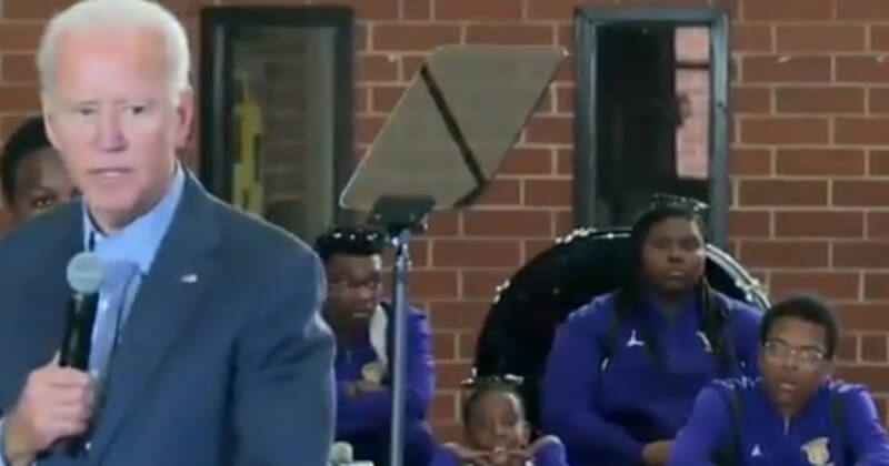 Image result for Biden Caught In Blatant Lie, Tells Black Students He Went To Black University
