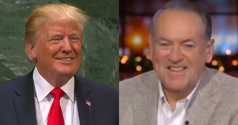Liberals Triggered After Huckabee Suggests Trump Should Get Third Term - Republicans with Trump