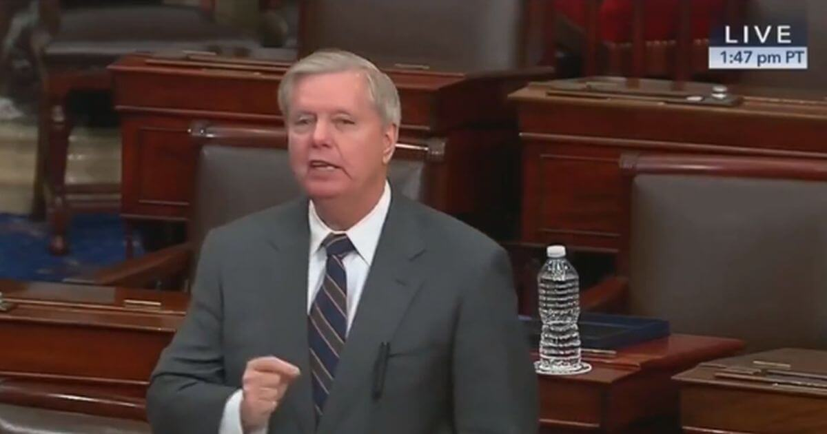 Lindsey Graham Rips Democrats Over Relief Bill, 'Never Been More ...